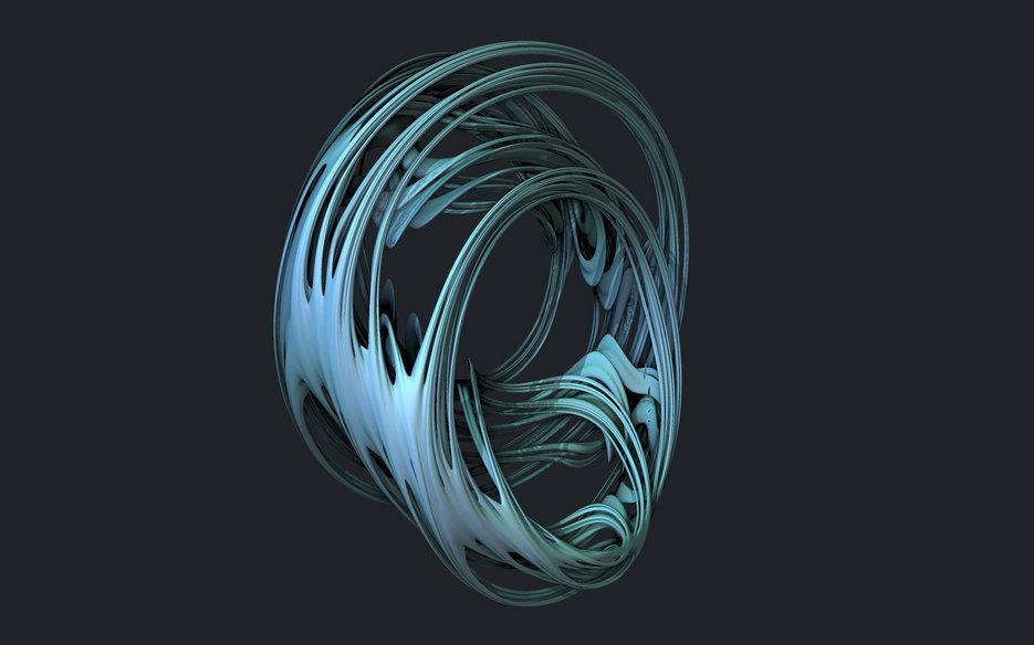 4D Quaternion Julia Set Ray Tracer • subblue